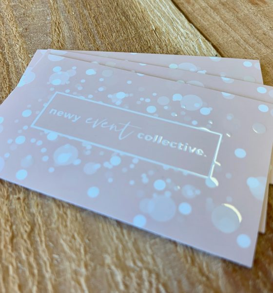 Newy Event Business Cards Printed by Printnova