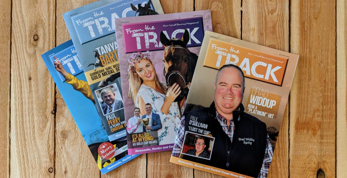 Magazines Printing in Newcastle & Lake Macquarie | From the Track | Printnova