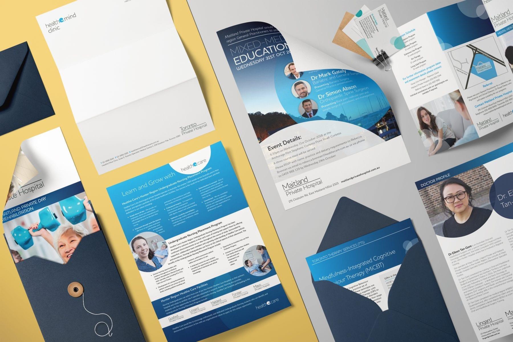 Stationery Printing | Health Mind Clinic | Printnova