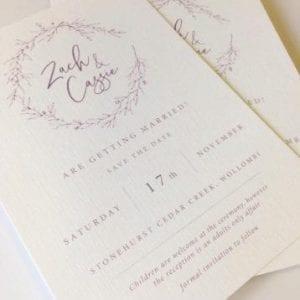 Wedding Invitation Printing | Emma Stafford | Printnova