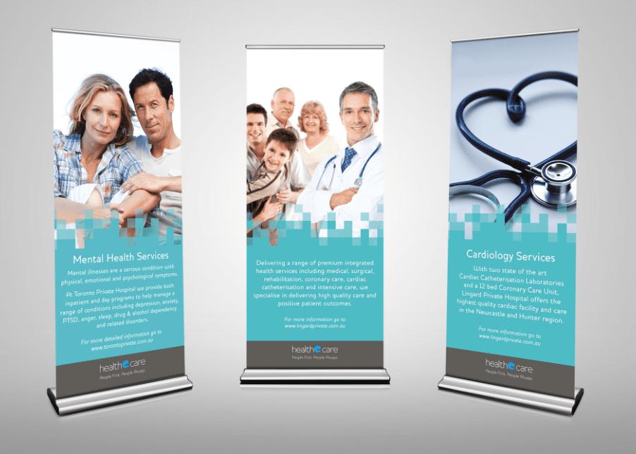 Sample Banner Printing for Health Care   Printnova
