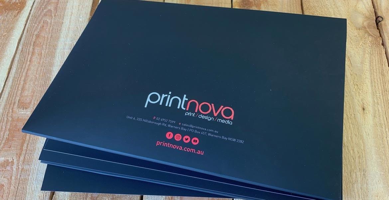 Printnova's Presentation Folders