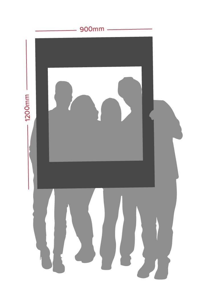 Selfie Frame Size Dimensions | Printnova